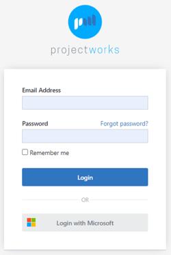 Projectworks_Login